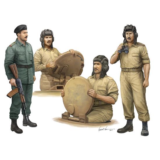 Trumpeter 00439 Фигурки Iraqi Tank Crew (1:35)