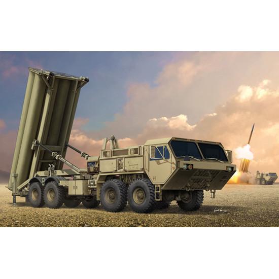 Trumpeter 01054 Сборная модель ПРО Terminal High Altitude Area Defence (THAAD) (1:35)