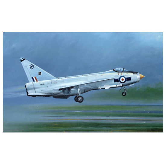 Trumpeter 01634 Сборная модель самолета English Electric (BAC) Lightning F.1A/F.2 (1:72)