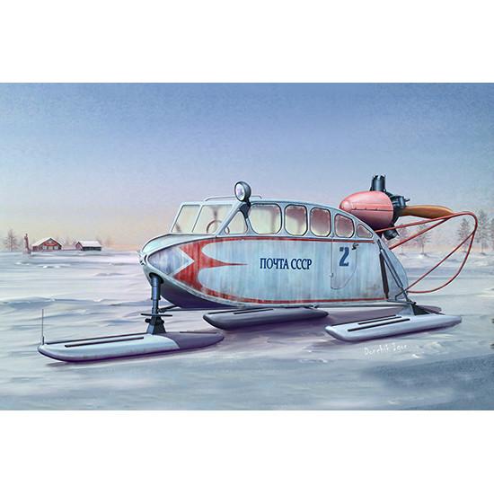Trumpeter 02355 Сборная модель аэросани Soviet NKL-6 Aerosan (1:35)