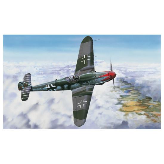 Trumpeter 02418 Сборная модель самолета Messerschmitt Bf109 K-4 (1:24)