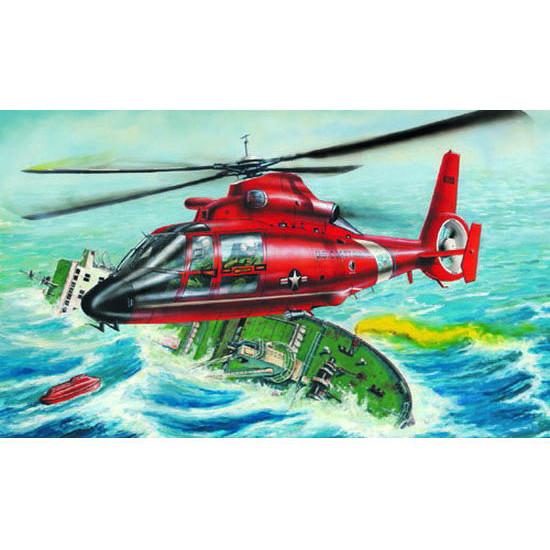 Trumpeter 02801 Сборная модель вертолета US HH-65A DOLPHIN (1:48)