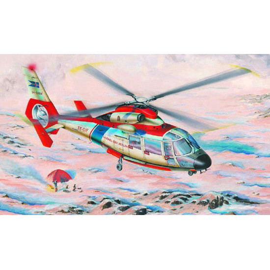 Trumpeter 02816 Сборная модель вертолета AEROSPATIALE SA365N DAUPHIN (1:48)