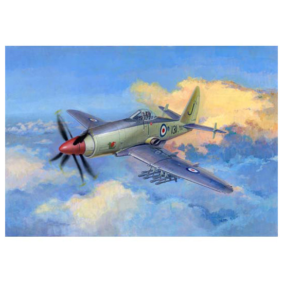 "Trumpeter 02843 Сборная модель самолета ""Wyvern"" S.4 Early Version (1:48)"