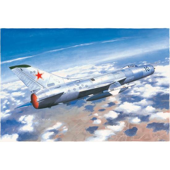 Trumpeter 02898 Сборная модель самолета Soviet Su-11 Fishpot (1:48)