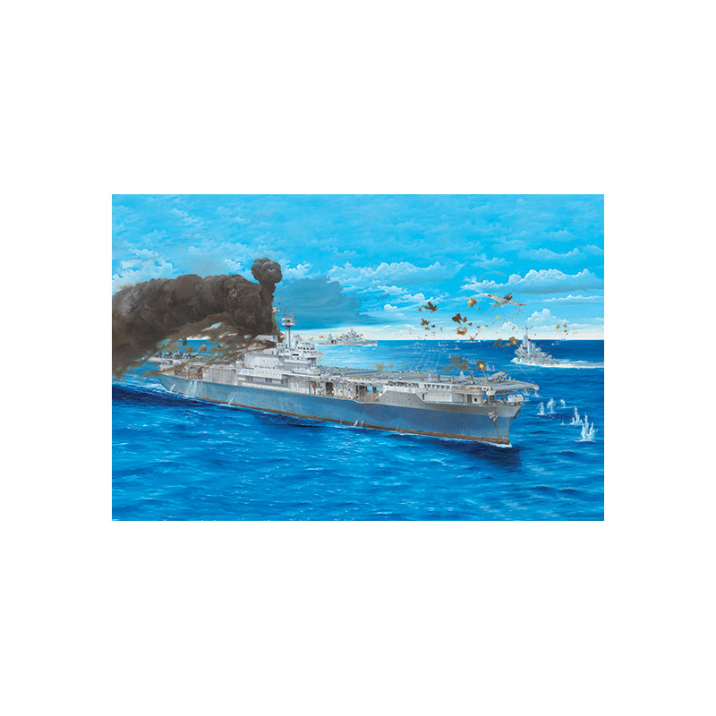 Trumpeter 03711 Сборная модель корабля USS Yorktown CV-5 (1:200)