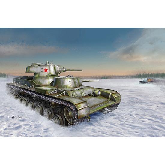 Trumpeter 09584 Сборная модель танка Soviet SMK Heavy Tank (1:35)