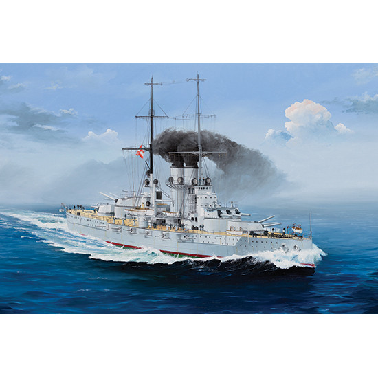 Trumpeter 05365 Сборная модель корабля SMS Szent Istv n (1:350)