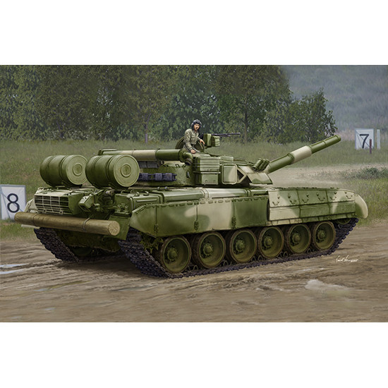 Trumpeter 09581 Сборная модель танка Russian T-80UD MBT - Early (1:35)