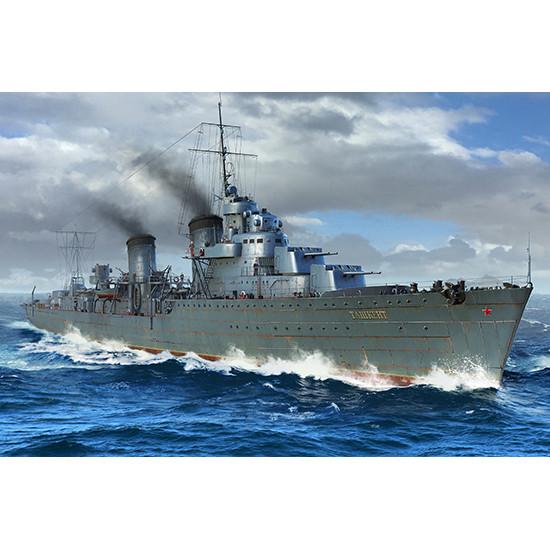 Trumpeter 05357 Сборная модель корабля Russian Destroyer Taszkient 1942 (1:350)