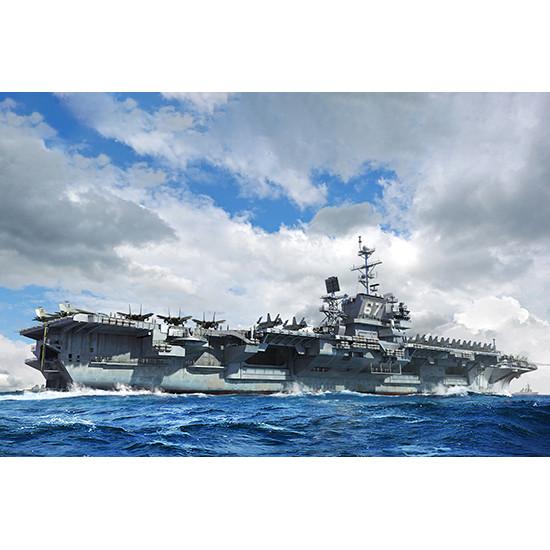 Trumpeter 06716 Сборная модель корабля USS John F. Kennedy CV-67 (1:700)