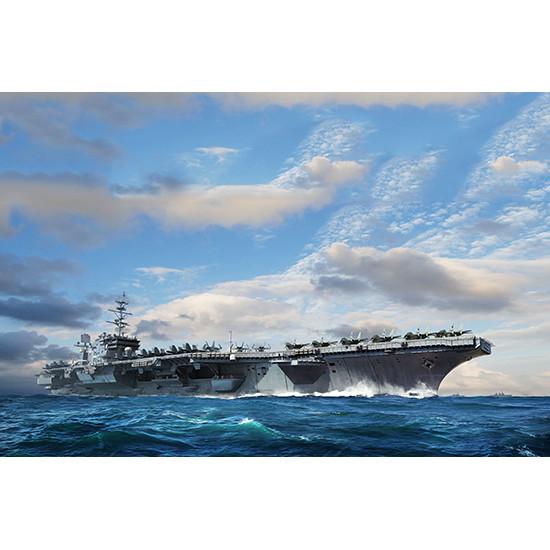 Trumpeter 06715 Сборная модель корабля USS Constellation CV-64 (1:700)