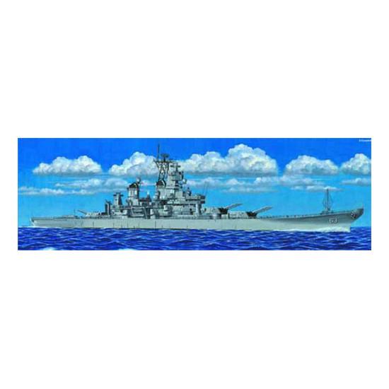 Trumpeter 05705 Сборная модель корабля US Battleship BB-63 Missouri 1991 (1:700)