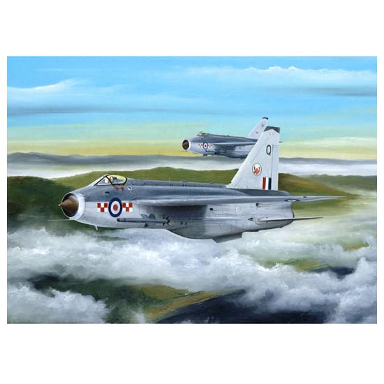 Trumpeter 01635 Сборная модель самолета English Electric (BAC) Lightning F.MK3 (1:72)