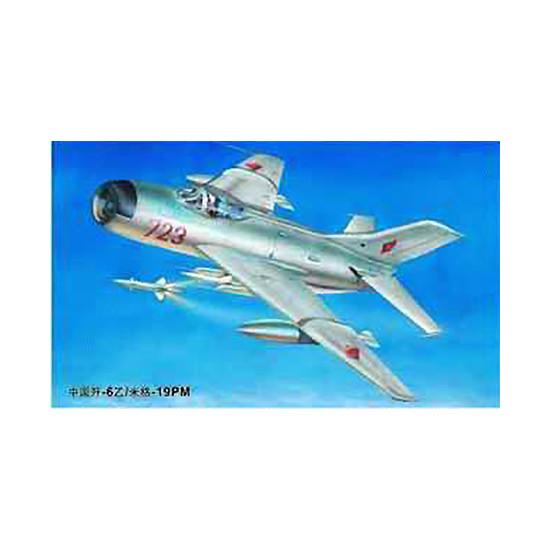 Trumpeter 02209 Сборная модель самолета MiG-19PM Farmer E (1:32)