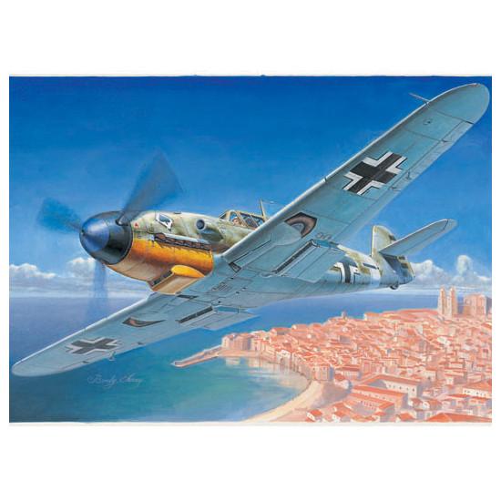 Trumpeter 02292 Сборная модель самолета Messerschmitt Bf 109F-4 (1:32)