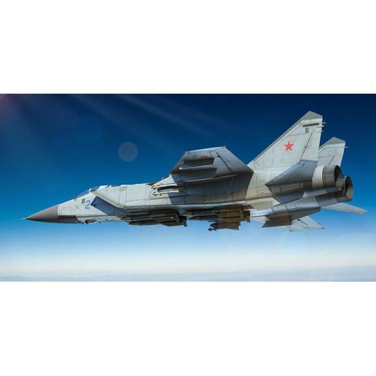 Trumpeter 01679 Сборная модель самолета Russian MiG-31 Foxhound (1:72)