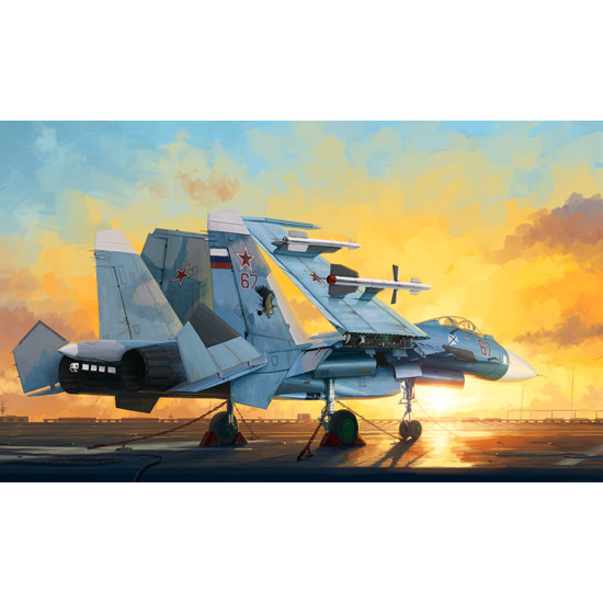Trumpeter 01678 Сборная модель самолета Russian Su-33 Flanker D (1:72)