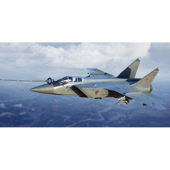 Trumpeter 01680 Сборная модель самолета Russian MiG-31B/BM Foxhound (1:72)