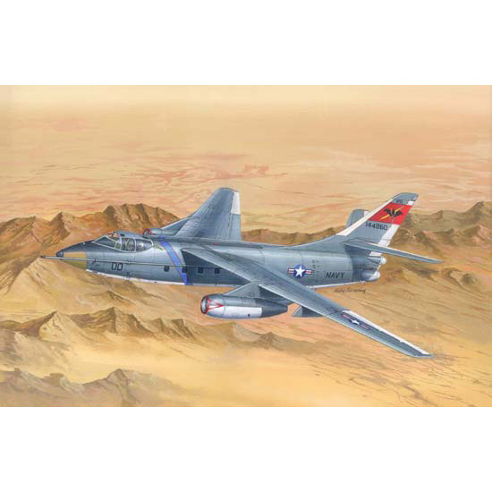 Trumpeter 02870 Сборная модель самолета TA-3B Skywarrior Strategic Bomber (1:48)